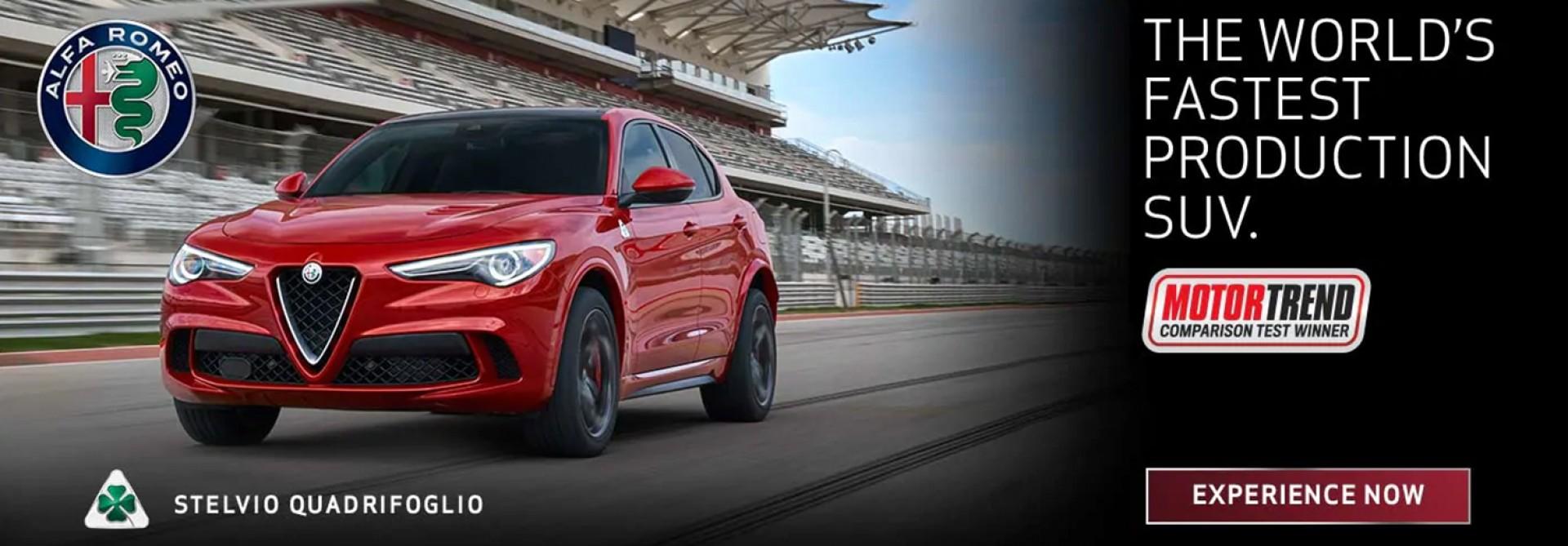Stelvio Quadrifoglio - The World's Fastest Production SUV