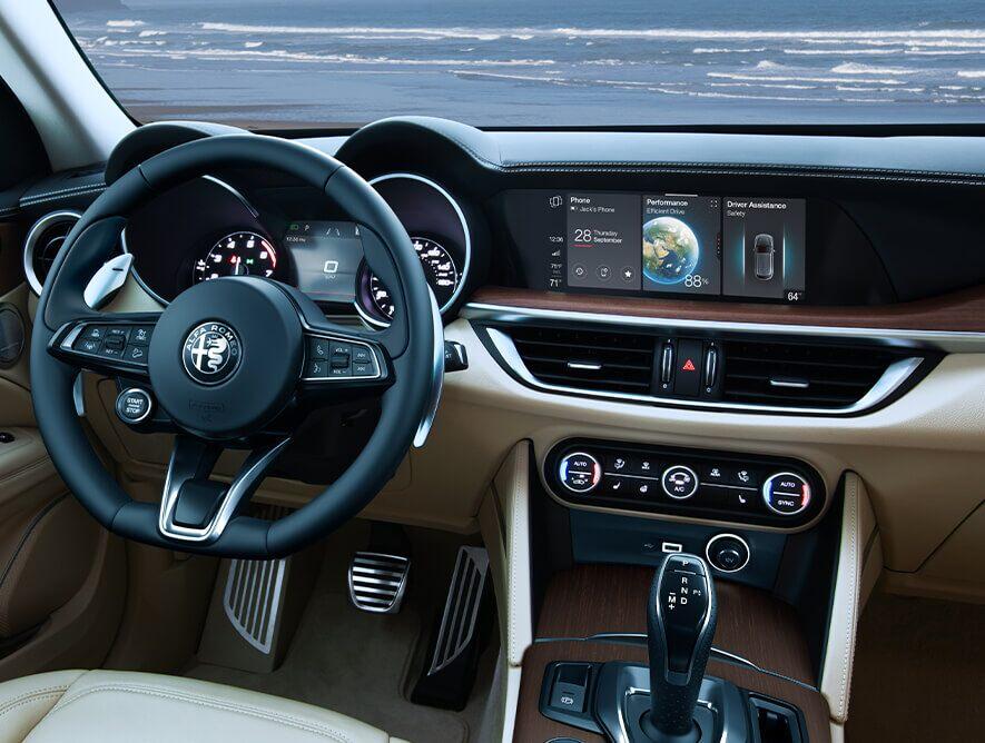 2020 Alfa Romeo Stelvio Interior Picture